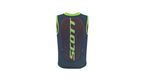 Scott Vest Protector Jr Actifit Plus (Nightfall Blue/Ruby Red)