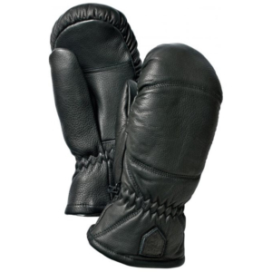 Hestra Leather Box Mitt Svart