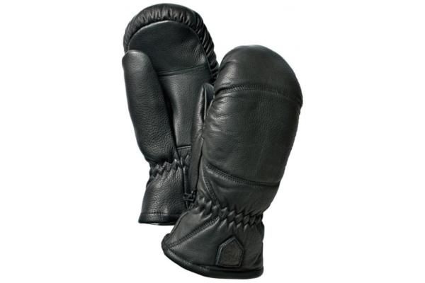 Hestra Leather Box Mitt Svart