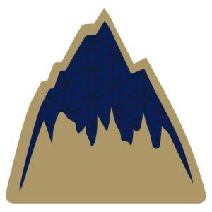 Burton Foam Mats Mountain Logo (Black / White)