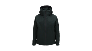 Maroon Ski Jacket (Black)