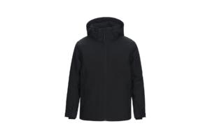 Jr Maroon Ski Jacket (Black)