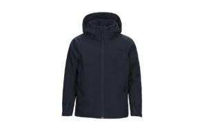 Jr Maroon Ski Jacket (Salute Blue)