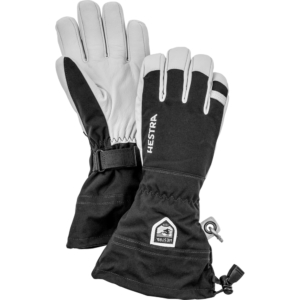 Hestra Army Leather Heli Ski 5 finger super bra handske