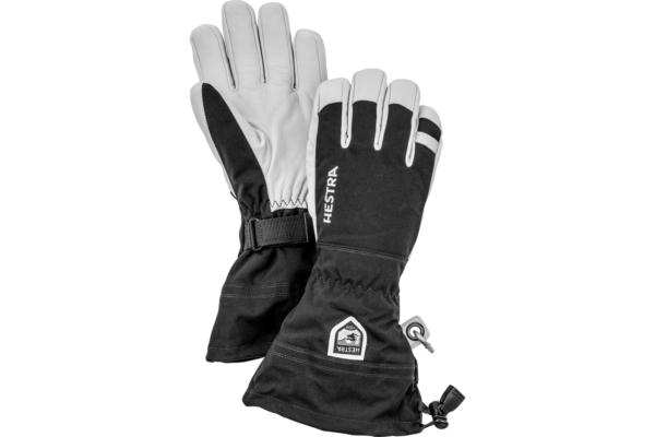 Hestra Army Leather Heli Ski 5 finger super bra handske