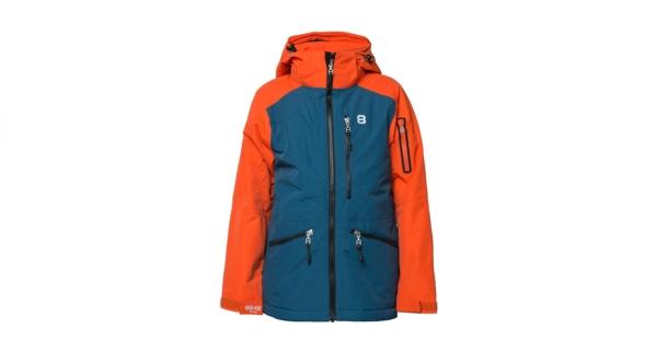 8848 harpy jr jacket red clay