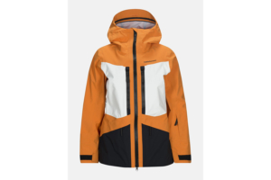Peak Performance W Gravity Ski Jacket Orange skidjacka för dam i gore tex