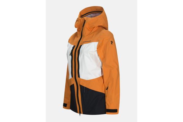 Peak Performance W Gravity Ski Jacket Orange side gore tex jacka för dam
