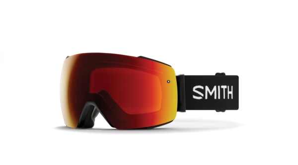 Smith io mag black chromapop sun red mirror