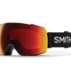 Smith io mag black chromapop sun red mirror