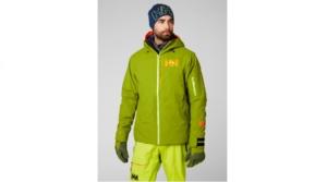 helly hansen powjumper jacket wood green 2