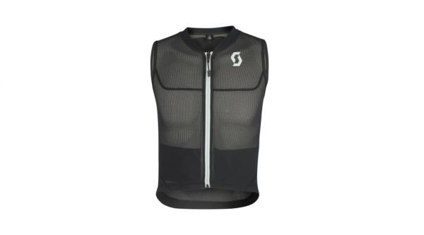 scott airflex jr vest protector black grey front
