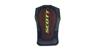scott airflex jr vest protector blue nights lime back