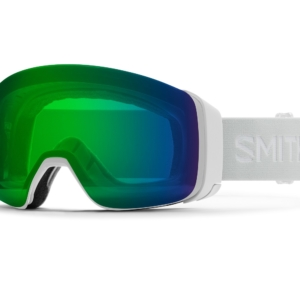 smith 4d white vapor chromapop green mirror