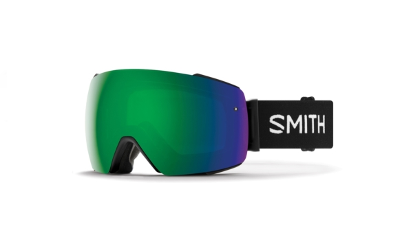 smith io mag black chromapop sun green mirror