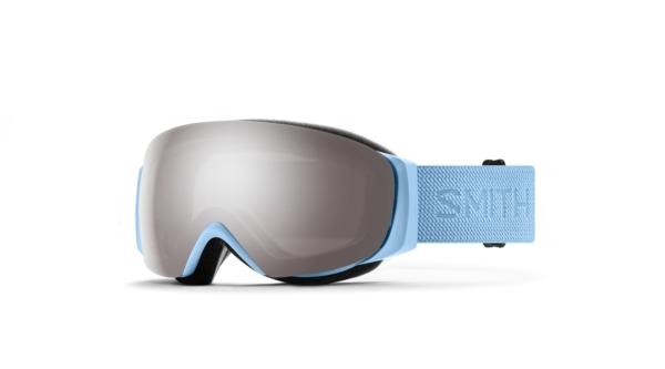 smith io mag s smokey blue chromapop sun platinum mirror