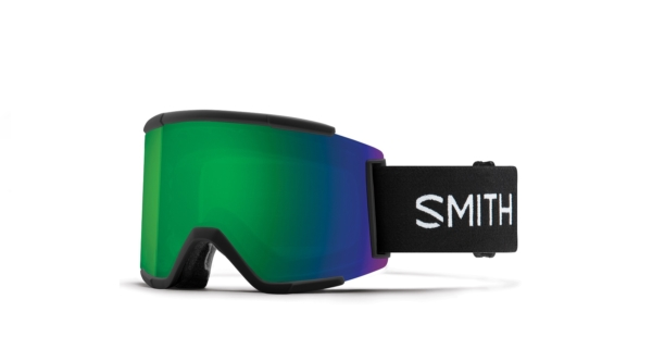smith squad xl black cromapop sun green mirror