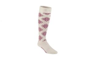 Kari Traa Rose sock NWH skidstrumpa vit och rosa
