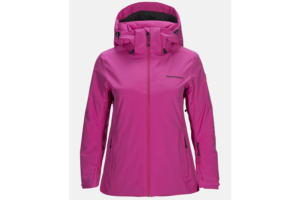Peak Performance Anima Jacket power pink bra skidjacka