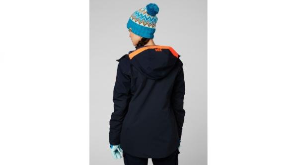helly hansen powchaser lifaloft jacket navy 3