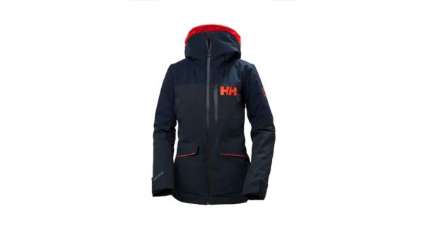 helly hansen powchaser lifaloft jacket navy