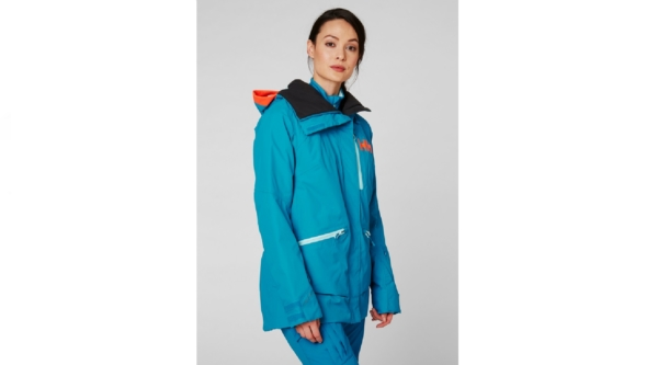 helly hansen w showcase jacket blue 2