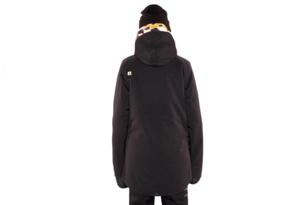 Armada Saint Pullover Jacket Black Back