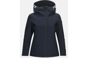 Peak Performance W rider ski jacket blue shadow