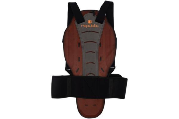 Republic Ryggskydd mjukt och skönt med bra skydds egenskaper för juniorer