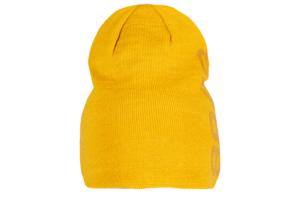 8848 Altitude Asp Beanie Mustard längre mössa med stor logo