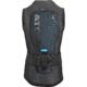Atomic Live Shield vest amid All Black Back skönt och mjukt ryggskydd