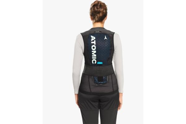 Atomic Live Shield vest amid W Black Back 2