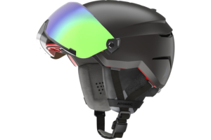 Atomic Savor Amid Visor HD Black bra hjälm med visir