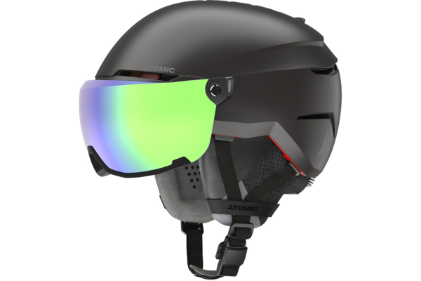Atomic Savor Amid Visor HD Black hjäm med grym passform