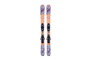 K2 Luv Bug lätt och fin junior skida