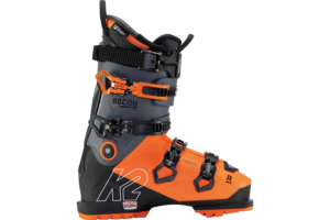 K2 Recon 130 Mv stabil skidpjäxa med bra passform för medelbreda fötter