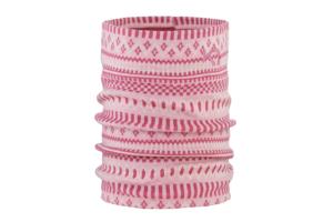 Kari Traa Åkle Tube Lilac varmt och skönt multi plagg som kan bäras på m,ånga olika sätt i 100% ull