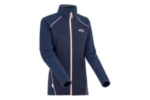Kari Traa Kari FZ Fleece Marin är en skön tröja för sportiga tjejer i blå snygg färg