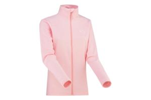 Kari Traa Karin FZ Fleece Pearl är en snygg sportig tröja för aktiva tjejer i snygg rosa färg