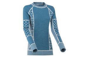 Kari Traa Smecker LS Ocean varm och skön underställs tröja i ull