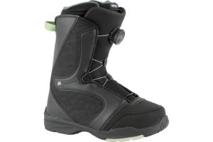 Nitro Flora Boa Black Mint snowboard sko med smart snörning