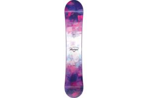 Nitro Mystique snowboard visar ovansidan