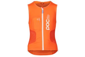Poc pocito vpd air vest orange front ryggskydd med väst för juniorer