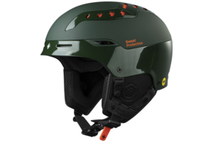 Sweet Switsher Mips Highland Green back side skidhjälm med mips
