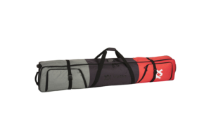 Völkl Roling Double ski bag 185 cm Red Grey, Stort och praktiskt skidfodral på hjul för två par skidor