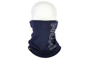 Mons Royale Double neckwarmer navy skön och varm hals och nackvärmare i ull