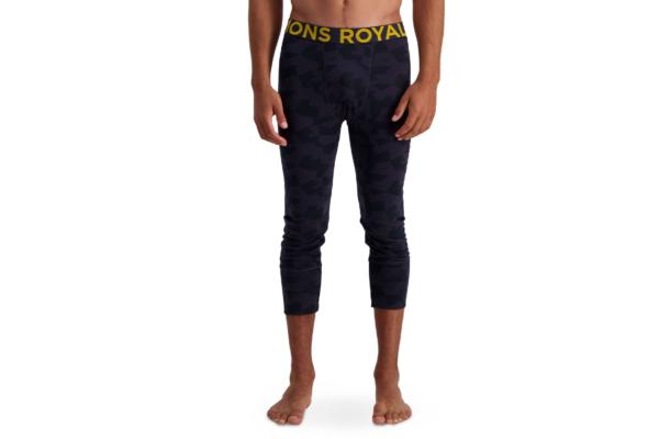 Mons Royale Shaun-off legging Ir skön varm underställs byxa med kortare ben i ull