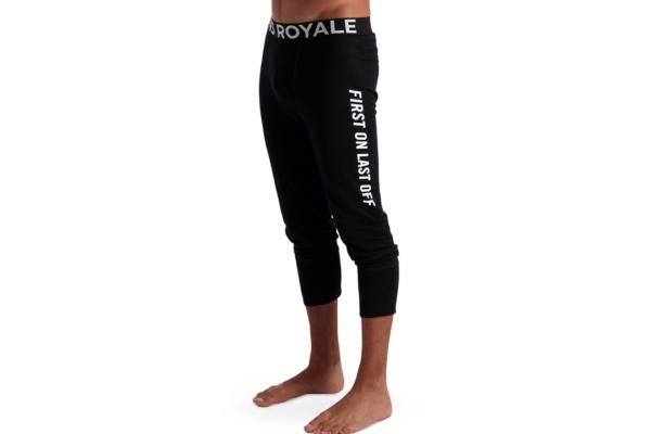 Mons Royale Shaun-off legging black underställs byxa med kortare ben i ull