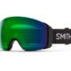 Smith 4D Mag Black Chromapop Everyday Green Mirror ruskigt bra skidglasögon med dubbla linser