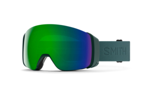 Smith 4D Mag Spruce Flood Chromapop Sun Green Mirror bästa gogglen på marknade